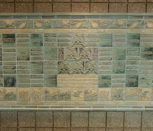 Caledonia Library Tile