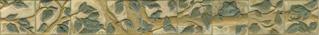 Frog Frieze (9 tiles)