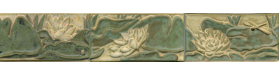 Water Lily Panel