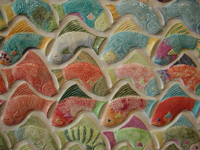 Colorfull Fish Tile