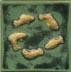 Stoney Matte Green and Yellow Glaze