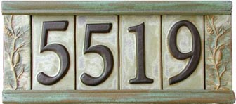 Sample Number Tiles